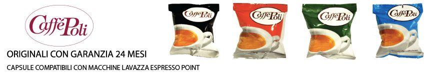 Capsule Lavazza Espresso Point Compatibili Poli Caffè