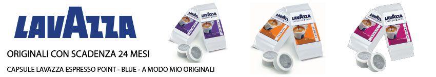 Caffè Lavazza Cialde e Capsule A Modo Mio - Espresso Point - Blue