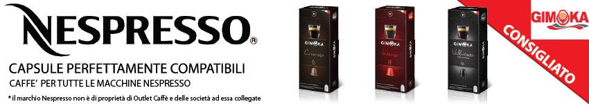 Capsule Gimoka Nespresso Compatibili