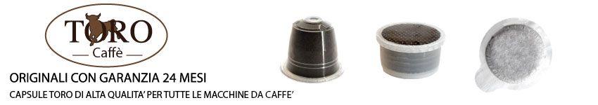 Torrefazione Toro Caffè Cialde e Capsule Compatibili