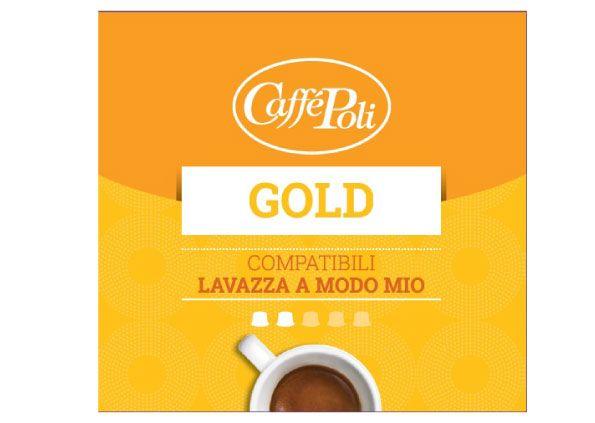 200 poli gold arabica capsule compatibili lavazza a modo mio. Black Bedroom Furniture Sets. Home Design Ideas