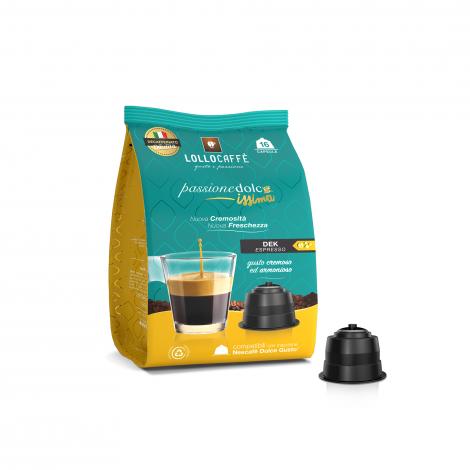 192 Capsule Dolce-Gusto Passione Dolce caffè Lollo Dek