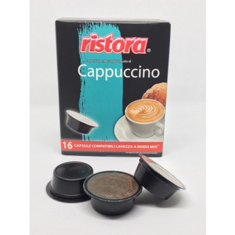 Ristora Cappuccino in Capsule Lavazza A Modo Mio