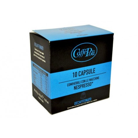 Offerta 200Capsule Nespresso Compatibili Poli Decaffeinato