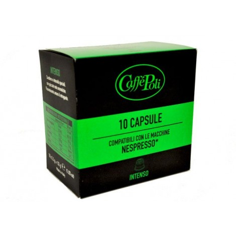 Offerta 200 Capsule Nespresso Compatibili Poli Intenso