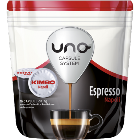 Capsule Kimbo Napoli UNO System