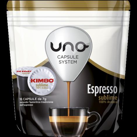 Capsule Kimbo Sublime 100% Arabica UNO System