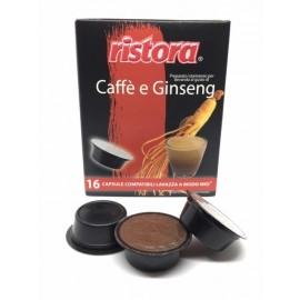 Ristora Caffè al Ginseng in Capsule Lavazza A Modo Mio
