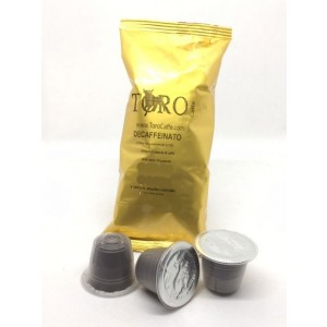 Capsule Compatibili Nespresso Toro Decaffeinato