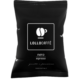 Capsule Lollo Caffè Nero Compatibili Lavazza Espresso Point