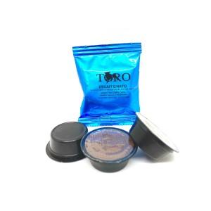Capsule Lavazza A Modo Mio Compatibili Toro Blu Decaffeinato