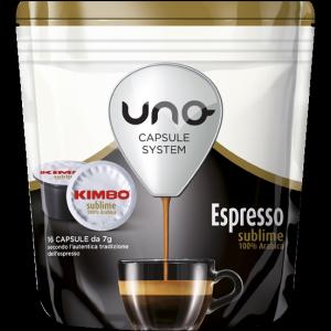 Offerta 80 Capsule Kimbo Sublime 100% Arabica UNO System