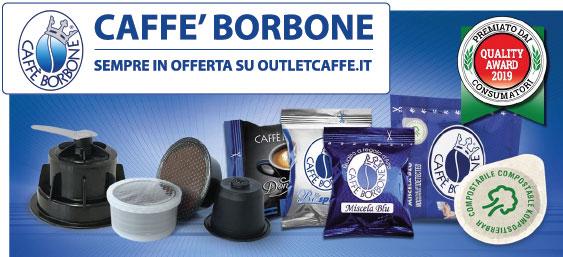 Caffe' Borbone in Offerta su Outlet Caffè