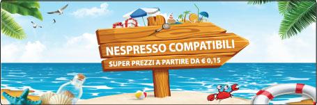 Cialde Nespresso Compatibili