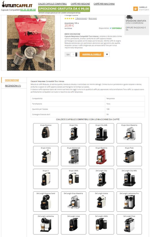 Macchine da Caffè Compatibili
